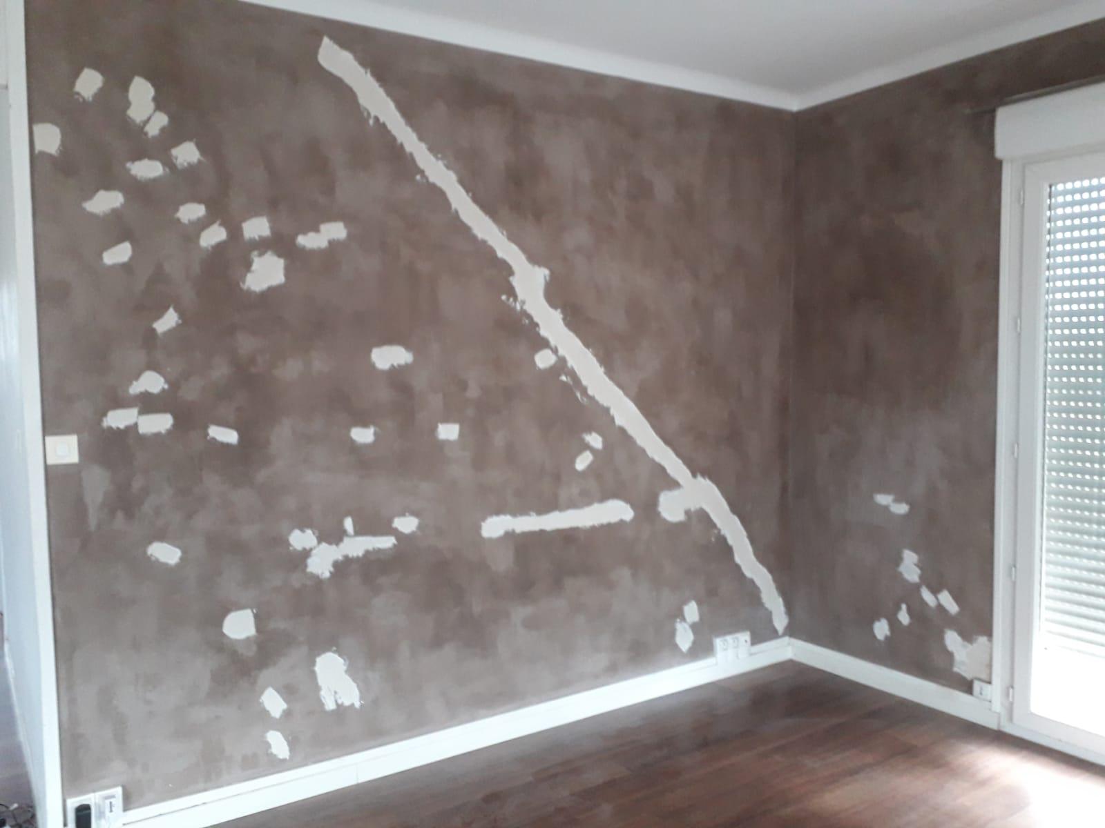 Mur avant la préparation